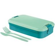 Pojemnik  śniadaniowy (niebieski) LUNCH & GO Curver