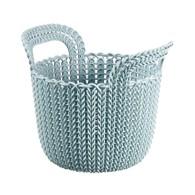 Koszyk 3 l (szaroniebieski) Knit Curver