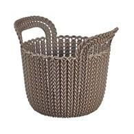 Koszyk 3 l (szarobrązowy) Knit Curver