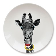 Talerz Wild Dining Mustard (Żyrafa)