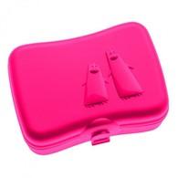 Lunch box Ping Pong Koziol (czerwony)