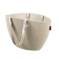 Koszyk na zakupy Emily Knit (kremowy) Curver