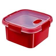Pojemnik do mikrofalówki (1,1 L) Curver (czerwony)