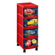 Regalik na zabawki (Cars, czerwono-czarny) Curver