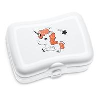 Pudełko na lunch z nadrukiem (białe) Bella Koziol