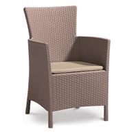 Krzesło ogrodowe Iowa (cappuccino-piaskowy) Keter