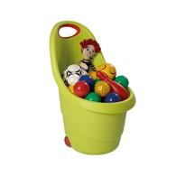 Pojemnik na zabawki (zielony) Kidie's Go Keter