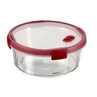 Szklany pojemnik na żywność (1,2 L) Smart Cook Curver (czerwony)