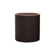 Doniczka Cylinder S (brązowa) Keter