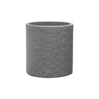 Doniczka Cylinder S (srebrna) Keter