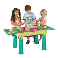 Stolik do kreatywnej zabawy dla dzieci (zielono-fioletowy) Creative Fun Table Keter